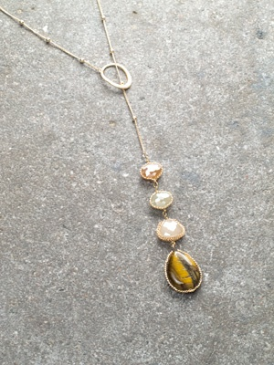 Long Stone detail lariat