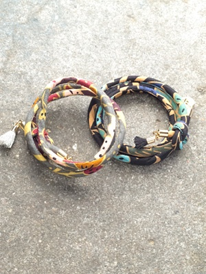 Trend Patterned wrap bracelet *2 COLORS