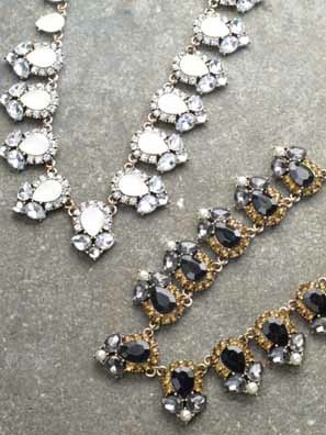 Dressy Antiqued collar statement