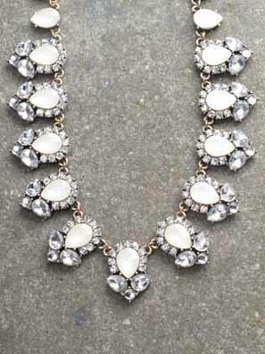Dressy Antiqued collar statement