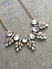 Dressy Antiqued jewel statement