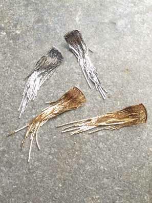 Casual Cascade fringe earrings