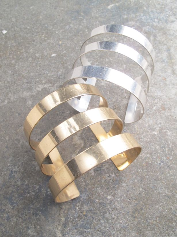 Cuff Triple bar cuff *2 COLORS