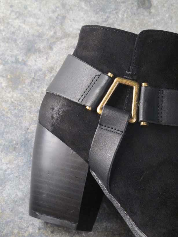 Bootie Side strap ankle boot