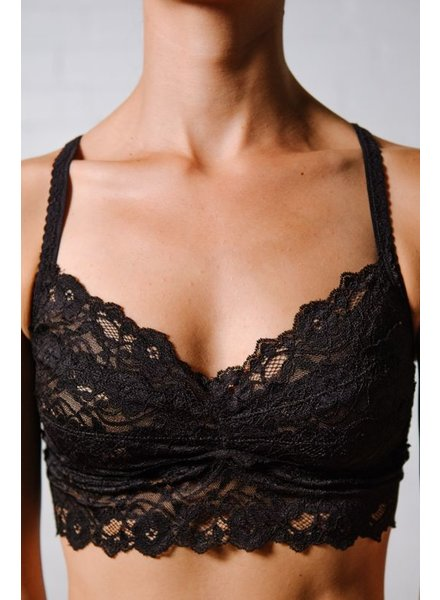 Lace Black lace bra