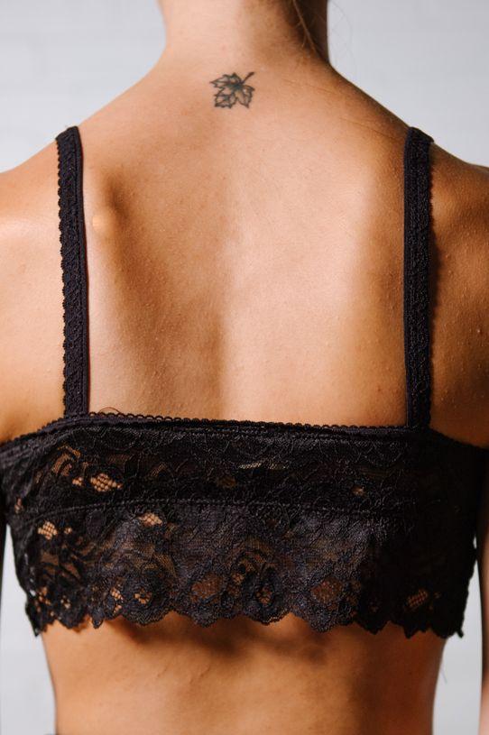 Lace Black lace bra