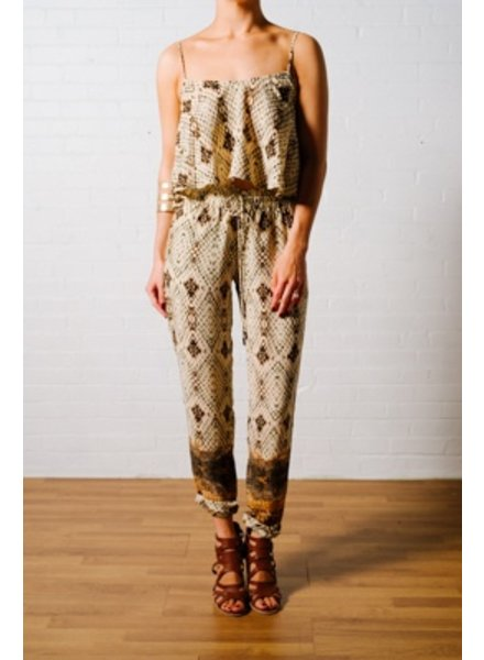 Tank Snake print flowy tank *MATCHING PANTS SOLD SEPARATELY