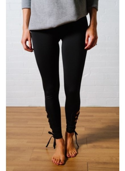 Leggings Lace up athleisure leggings *BACK IN STOCK!