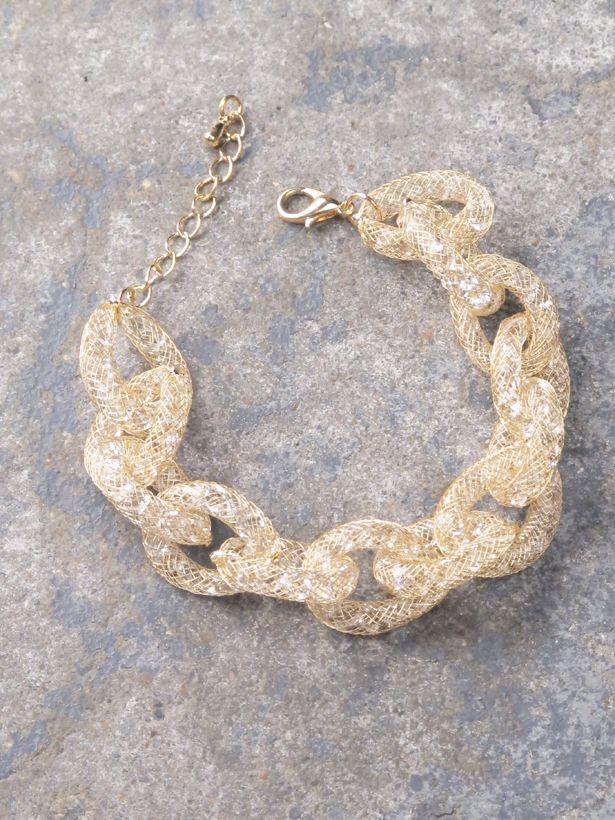 Dressy Mesh link bracelet *3 COLORS