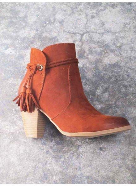 Bootie Sienna western ankle bootie