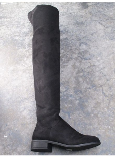 Boot Black thigh length boot