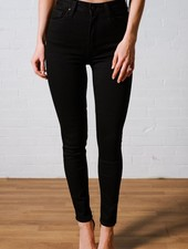 Jeans Black super high rise ankle skinny