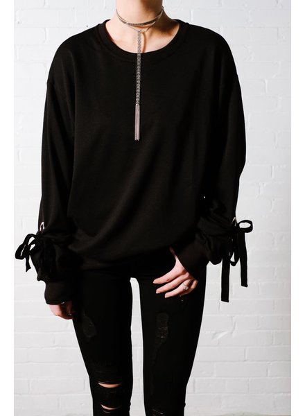 Sweatshirt Black oversized pullover