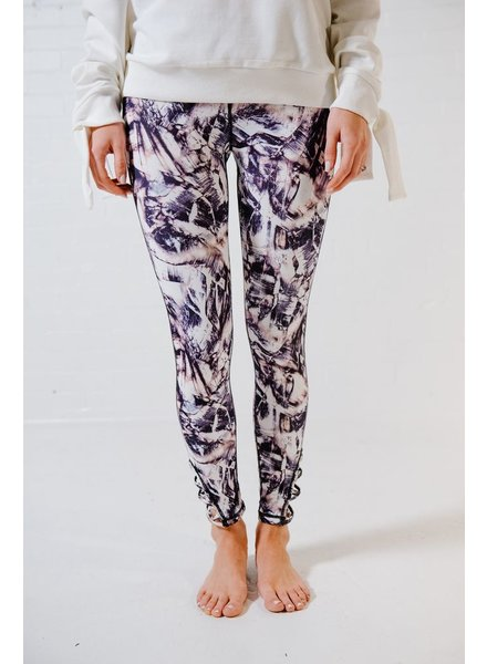 Leggings Abstract print legging