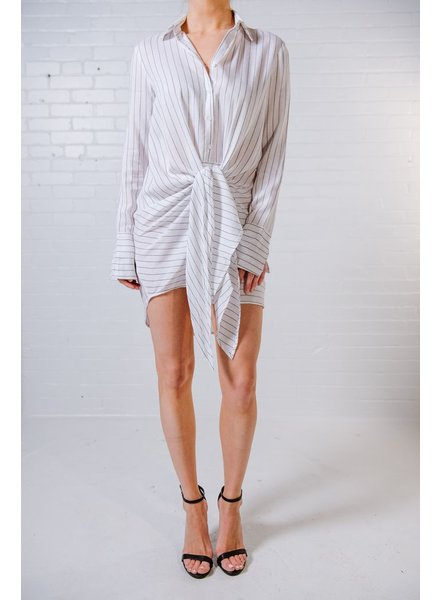 Mini Tie waist shirt dress *BACK IN STOCK!
