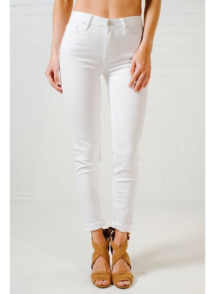 Jeans Classic white skinny