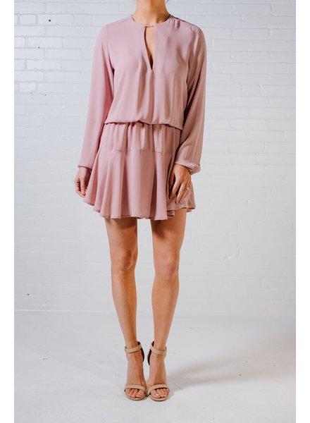 Mini Petal pink swing dress