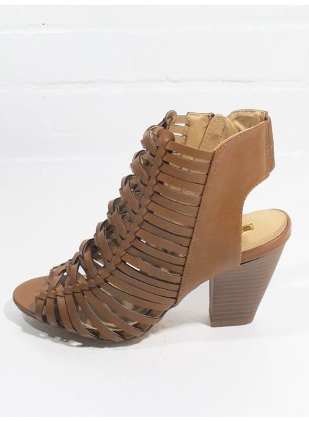 Wedge Braided strap spring bootie