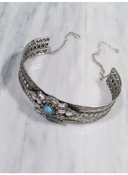 Choker Boho and sparkle choker