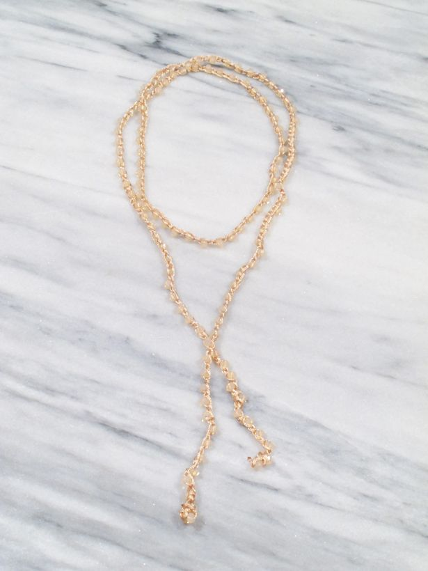 chain main necklace lana wrap