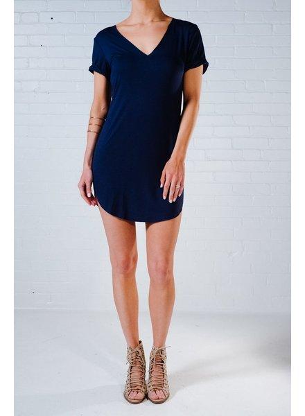 Mini Navy t-shirt dress *BACK IN STOCK!