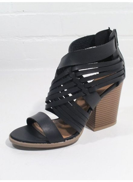 Wedge Favorite stacked heel bootie