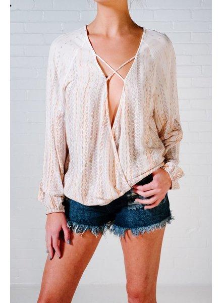Blouse Pastel print blouse