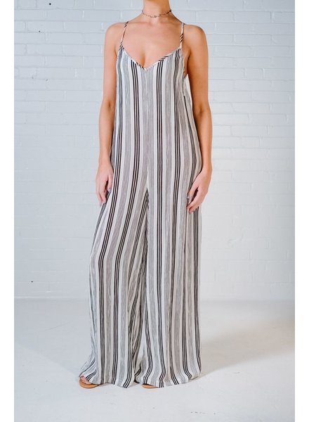 Jumpsuit Striped weekender jumpsuit