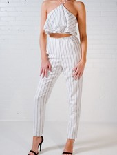 Pants Pin stripe trouser *MATCHING TOP SOLD SEPARATELY