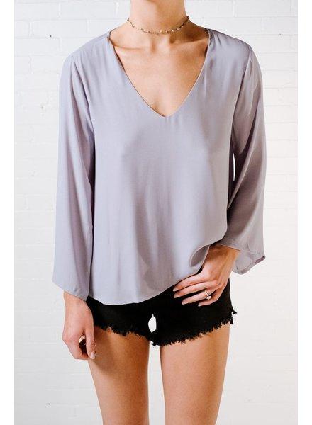 Blouse Lace back blouse