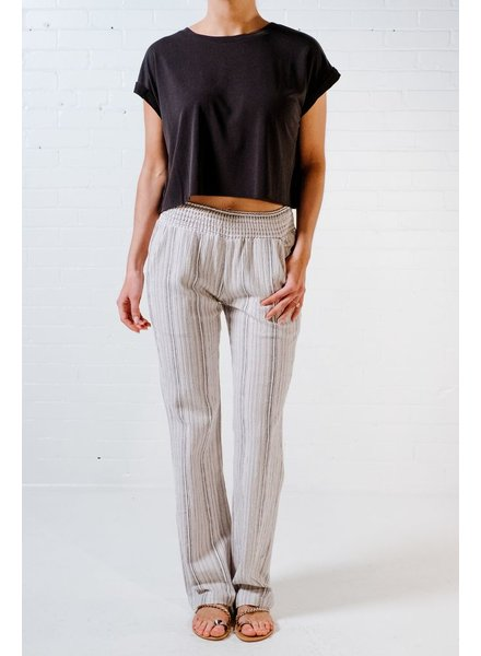 Pants Linen striped pants
