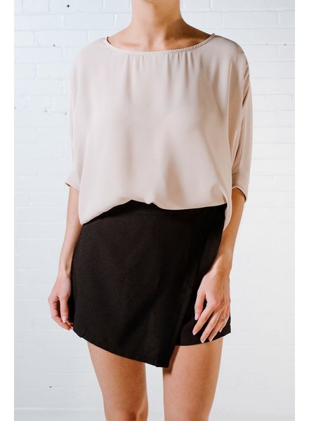 Blouse Oyster silky tee