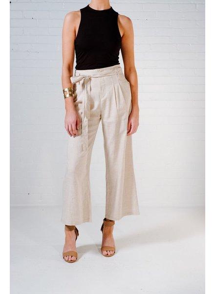 Pants Linen culottes
