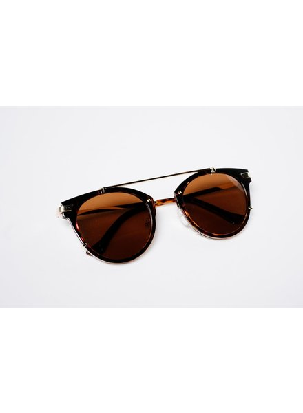 Sunglasses Tortoise floating pilots