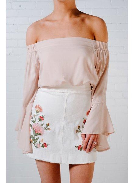 Blouse Blush OTS blouse