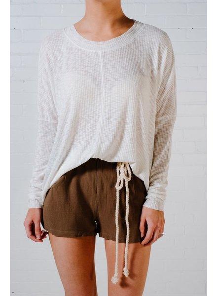 Shorts Army cinch waist shorts