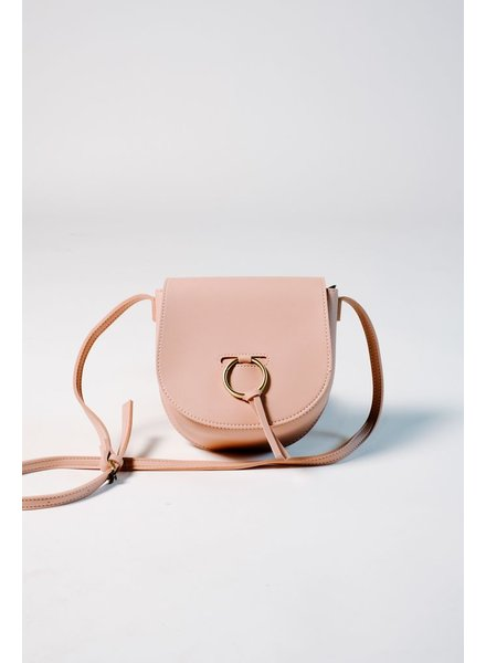Handbag Vegan leather blush crossbody