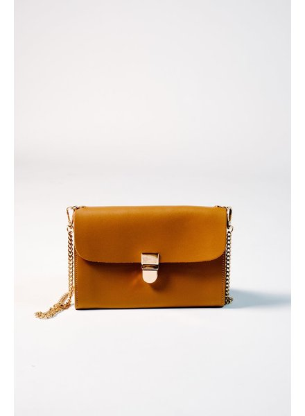 Handbag Camel envelope crossbody