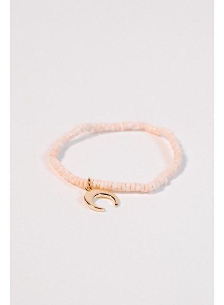 Trend Coral puka bracelet