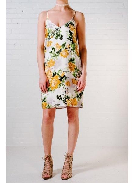 Shift Floral shift cami dress