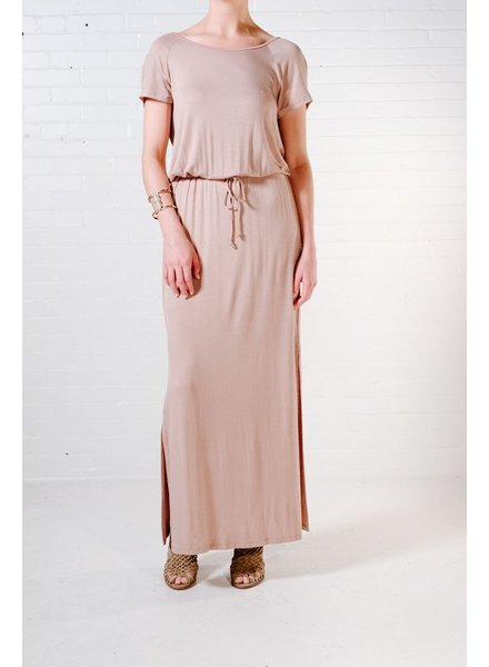 Maxi Back cowl maxi dress