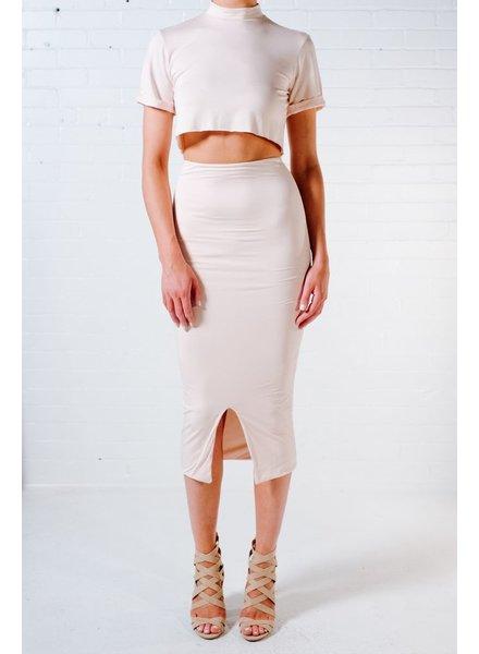 Skirt Jersey midi skirt