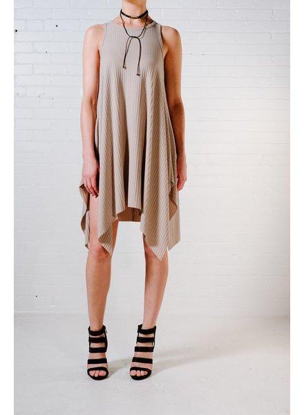 Mini Stone hi-lo tank dress