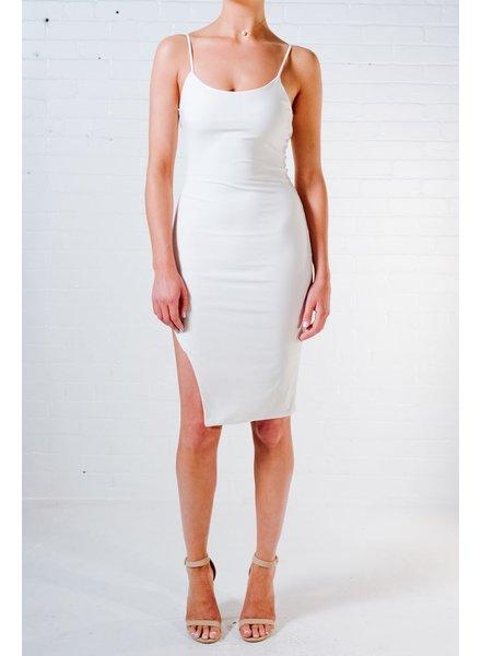 Mini Side slit cami dress
