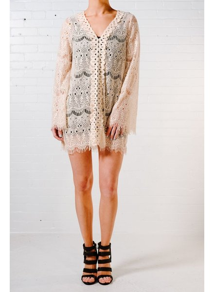 Lace Sheer lace dress