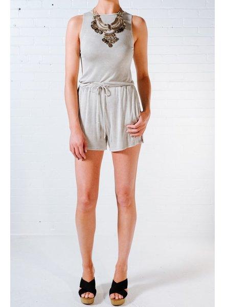 Shorts Grey acid wash shorts *MATCHING TANK SOLD SEPARATELY