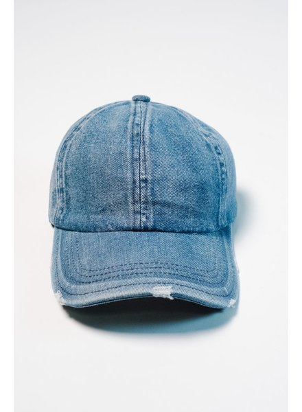 Hat Denim baseball hat