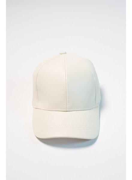 Hat Ivory baseball hat