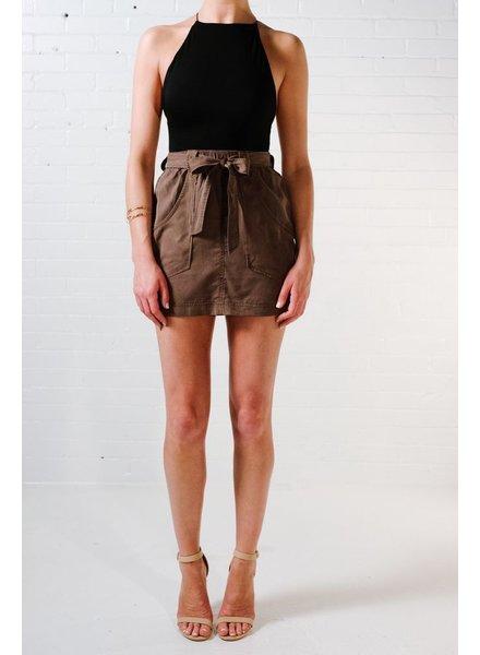 Skirt Olive cargo skirt