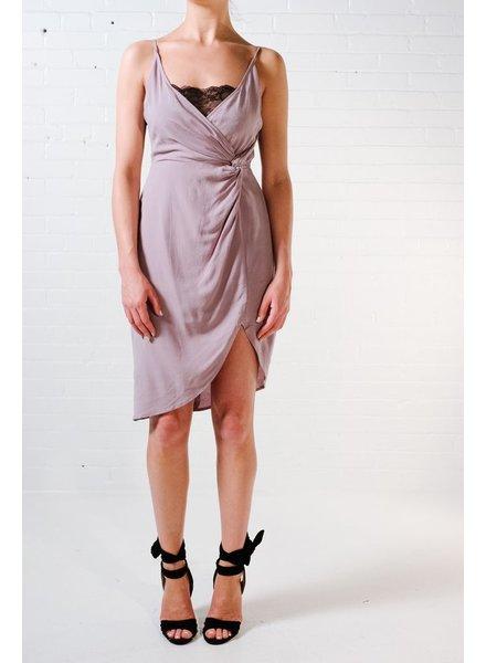 Midi Lace peek-a-boo dress